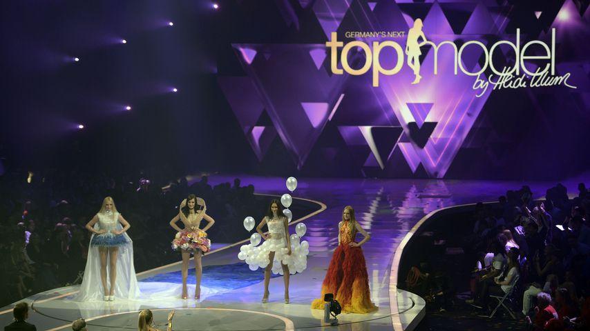 """Das Finale von """"Germany's next Topmodel"""" im Jahr 2013"""