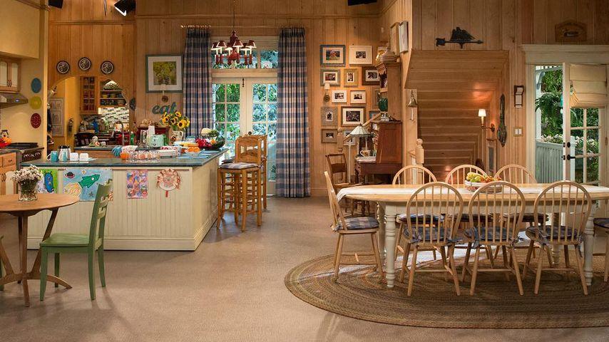 "Der innere Look des ""Full House""-Hauses in der Serie im Januar 2017"