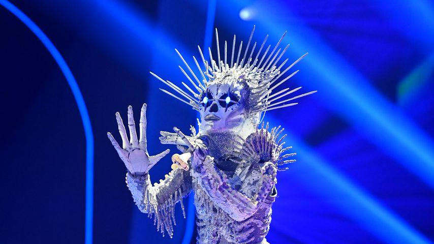 """Das Skelett bei """"The Masked Singer"""""""