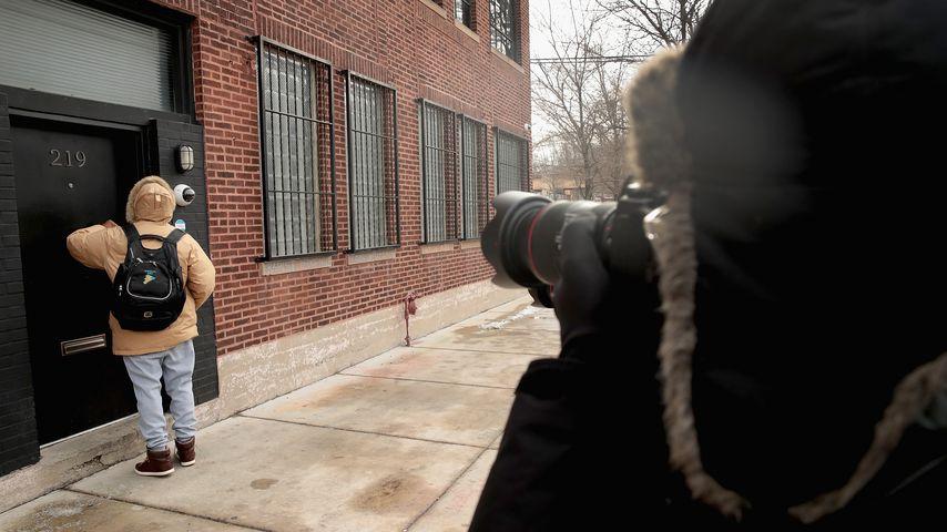 Das Tonstudio von R. Kelly in Chicago von außen