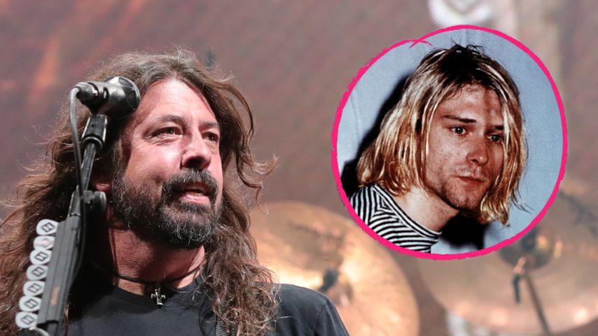 Sie waren beste Freunde: Dave Grohl träumt von Kurt Cobain