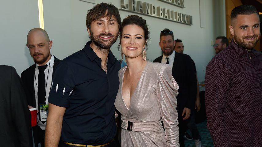 Dave Haywood und seine Frau Kelli Cashiola bei den CMT Music Awards 2017