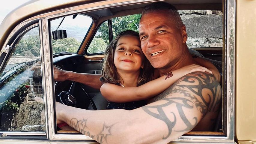 Dave Kaufmann mit seiner Tochter