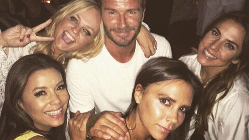 David Beckham: Marokkanische Party mit seinen Spice Girls