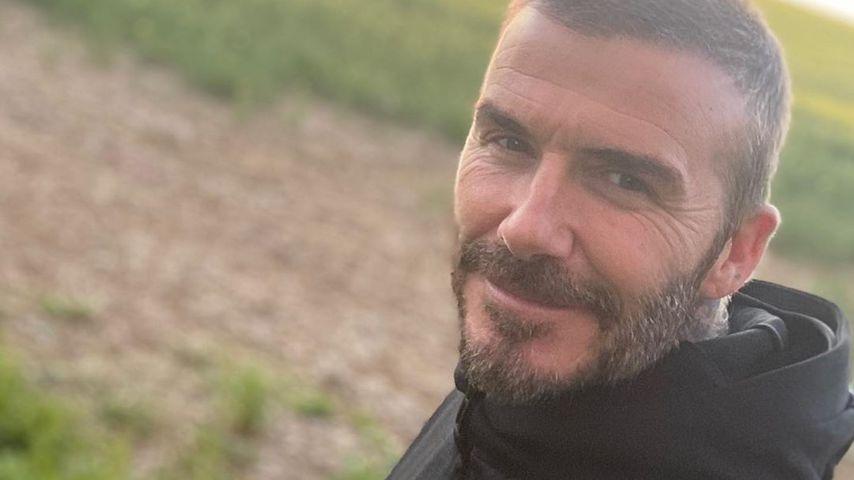 David Beckham im Mai 2020