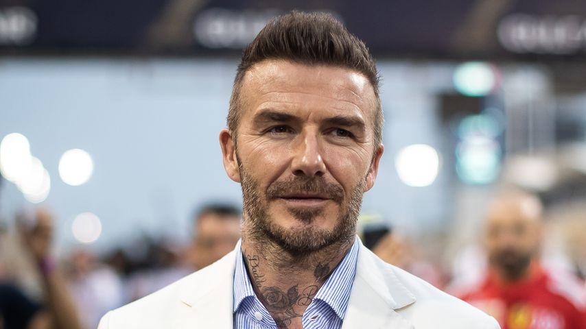 David Beckham im März 2019