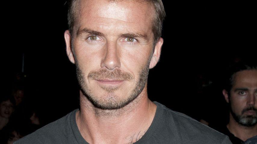 David Beckham kickt für Paris & spendet das Gehalt