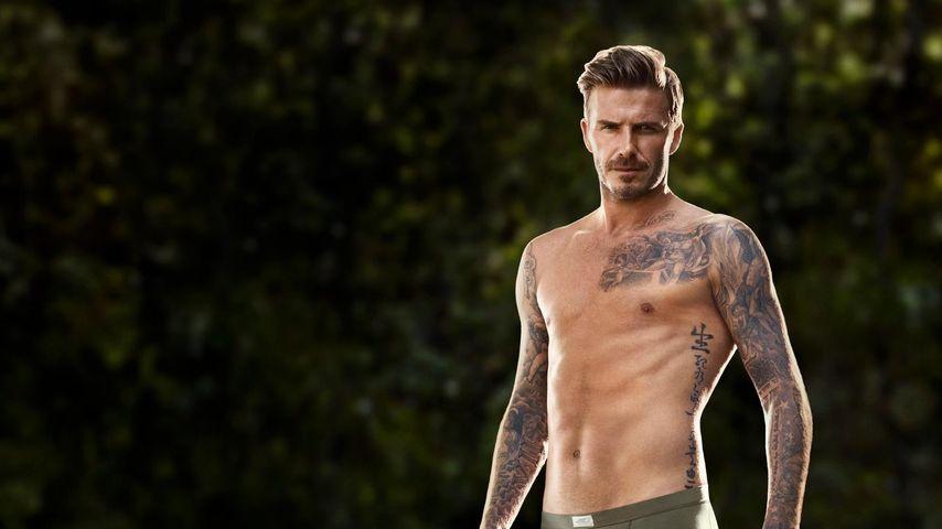 David Beckham schlüpft wieder in den Schlüpfer