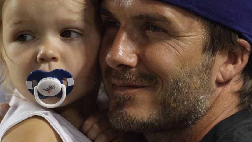 Schnuller-Skandal: David Beckham wehrt sich gegen Vorwürfe