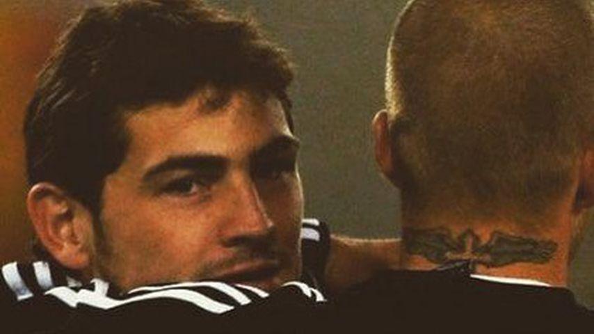 David Beckham und Iker Casillas