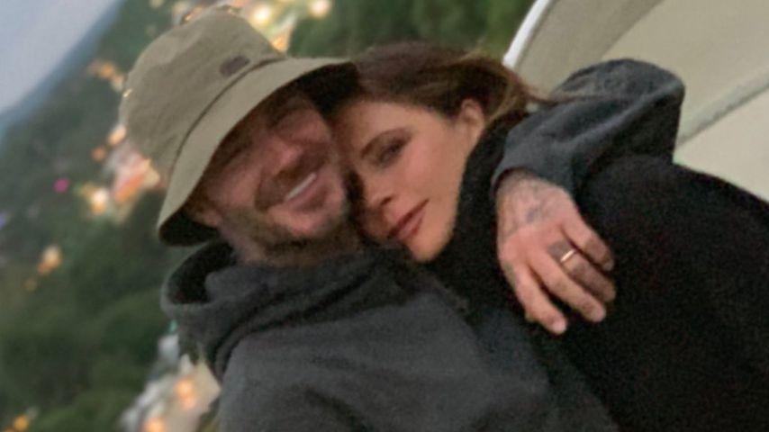 David und Victoria Beckham beim Glastonbury Festival 2019