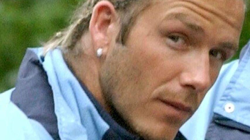 David Beckham mit Rastazöpfen, 2003