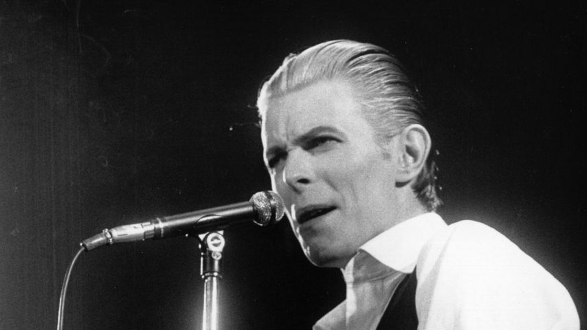 David Bowie im Wembley Stadion, 1976