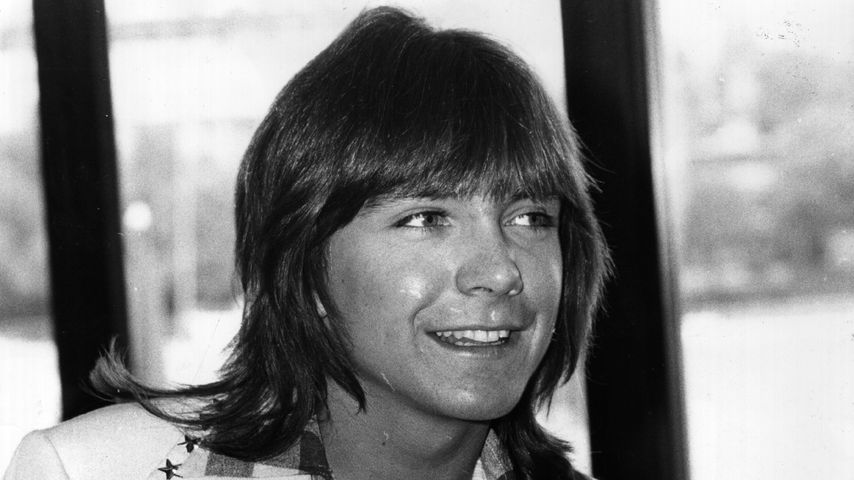 David Cassidy in den LWT Studios in London, 1974
