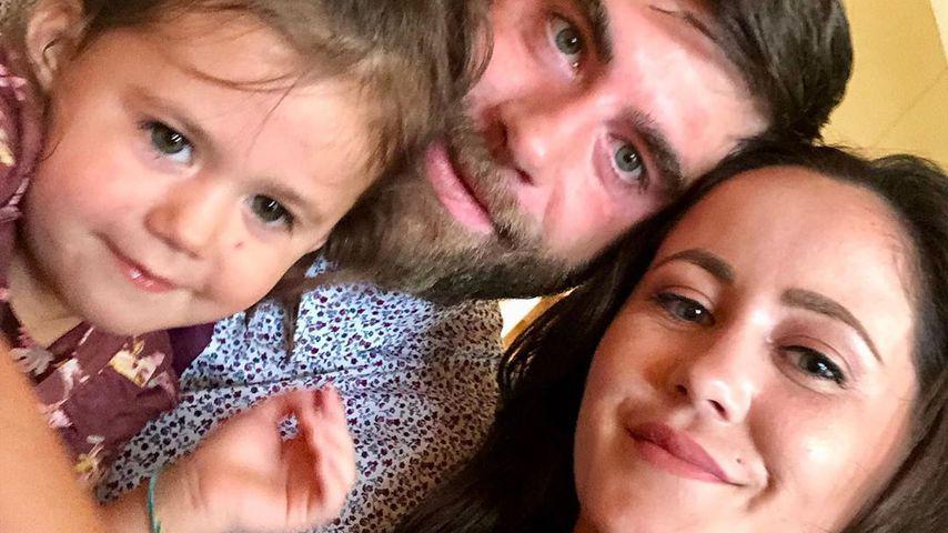 David Eason, Jenelle Evans und ihre Tochter Ensley