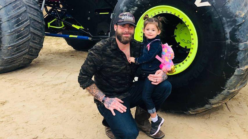 David Eason mit seiner Tochter Ensley Jolie, Oktober 2019