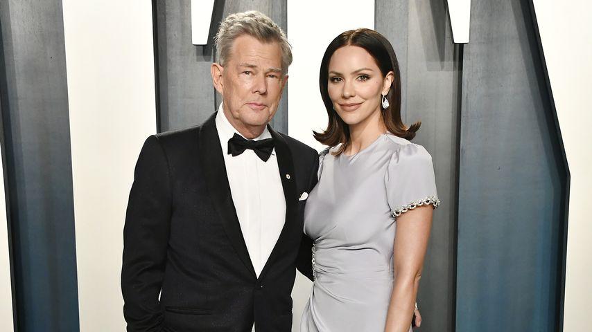 David Foster und Katharine McPhee im Februar 2020 in Beverly Hills