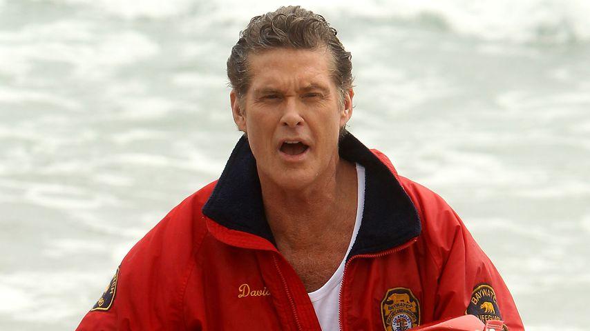 David Hasselhoff 2011 in Neuseeland
