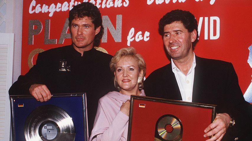 David Hasselhoff, Angelika Milster und Jack White, 1993
