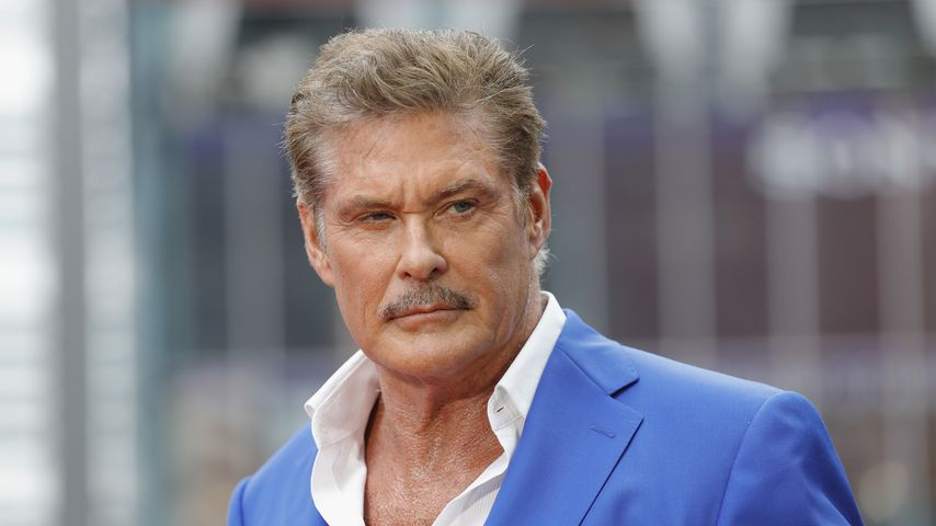 "David Hasselhoff beim ""Baywatch""-Photocall"