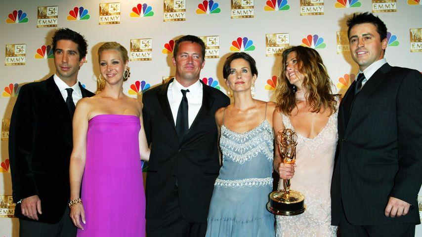 David Schwimmer, Lisa Kudrow, Matthew Perry, Courteney Cox, Jennifer Aniston