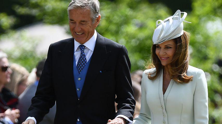 David und Jane Matthews bei der Hochzeit ihres Sohnes mit Pippa Middleton