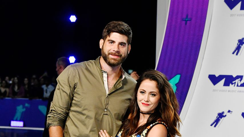 David Eason und Jenelle Evans bei den MTV Video Music Awards 2017