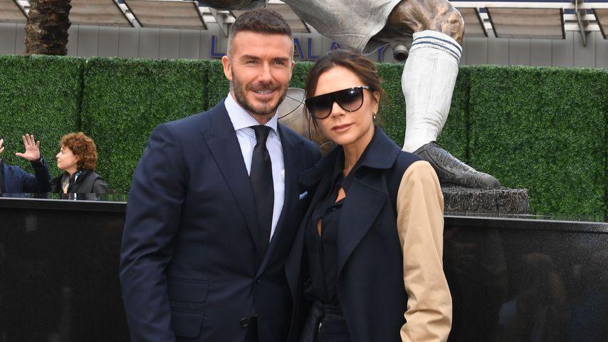 David und Victoria Beckham in Los Angeles