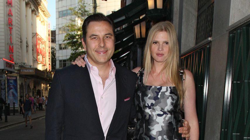 David Walliams und Lara Stone