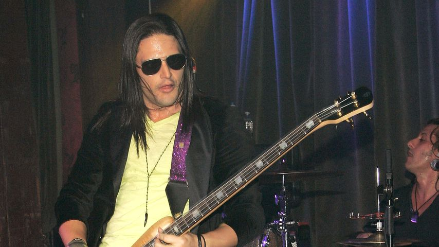 David Zablidowsky, Bassist der Band Adrenaline Mob