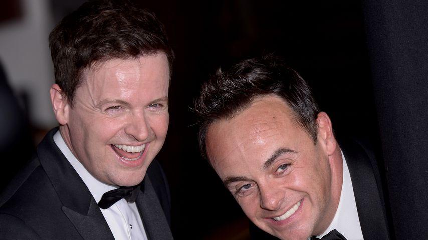 Declan Donnelly und Anthony McPartlin, Moderatoren des UK-Dschungelcamps