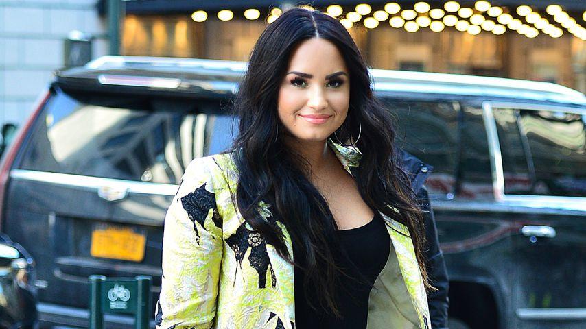 Demi Lovato in New York City