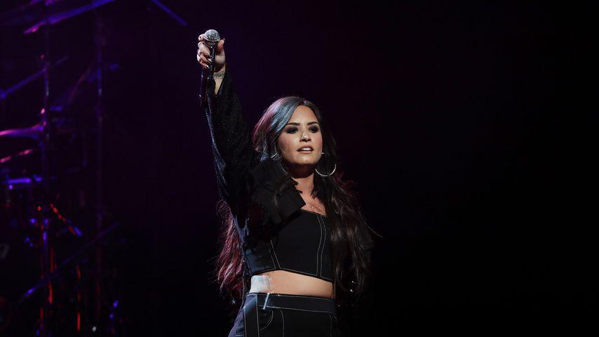 Demi Lovato bei einem Auftritt im Januar 2018