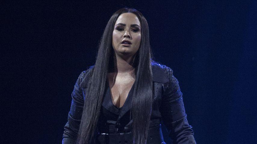 Demi Lovato bei einem Konzert in London