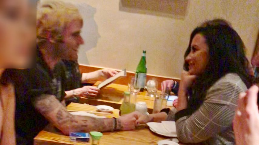 Henry Levy und Demi Lovato in Los Angeles