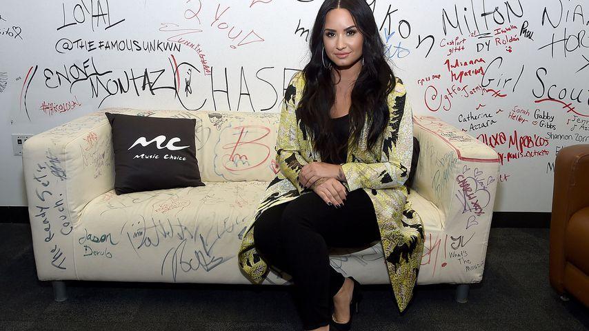 Demi Lovato bei einem Event in NYC im März 2018