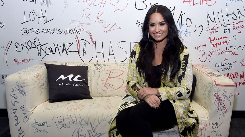 Demi Lovato bei Music Choice in New York