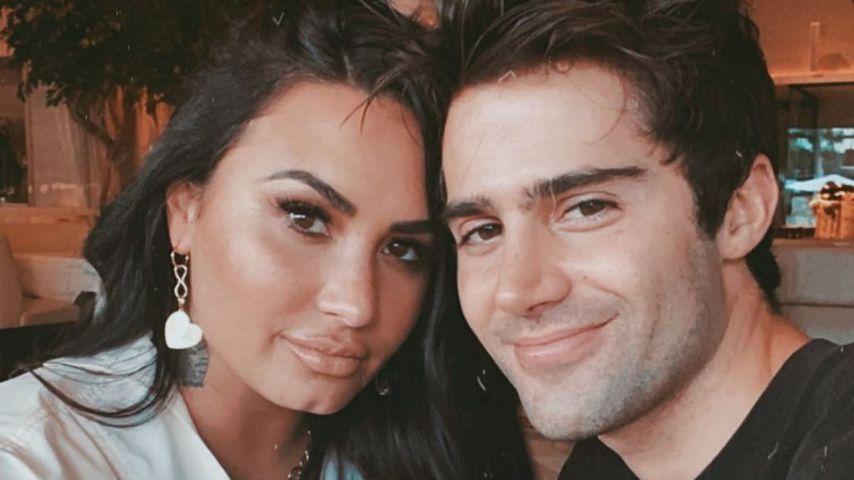 Demi Lovato und Max Ehrich im August 2020