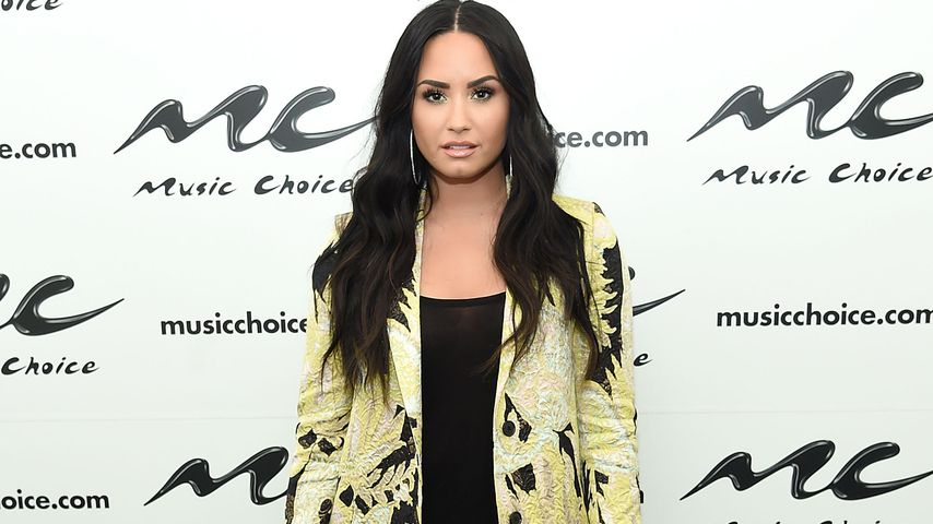 Demi Lovato bei einem Event von Music Choice in New York City