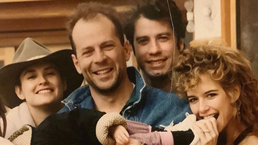 Demi Moore, Bruce Willis, John Travolta und Kelly Preston