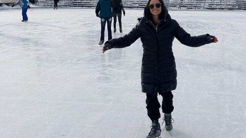 Eiskalt! So genießen Demi Moore & ihre Töchter den Winter