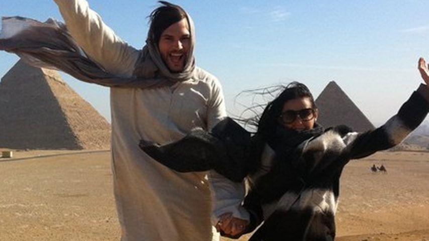 Beweis: Demi Moore hat im Urlaub die Hosen an