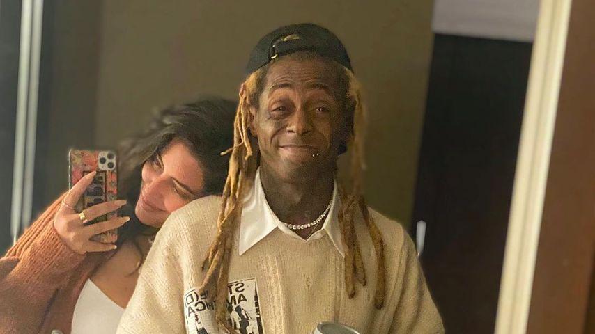 Denise Bidot und Lil Wayne im November 2020