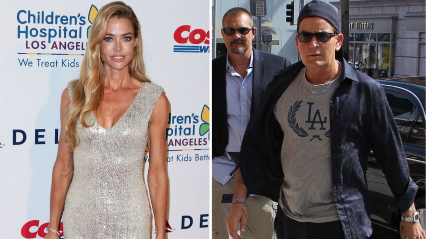 Denise Richards: Wusste sie von Charlie Sheens HIV-Diagnose?