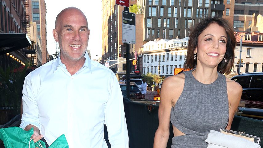 Dennis Shields und TV-Star Bethenny Frankel