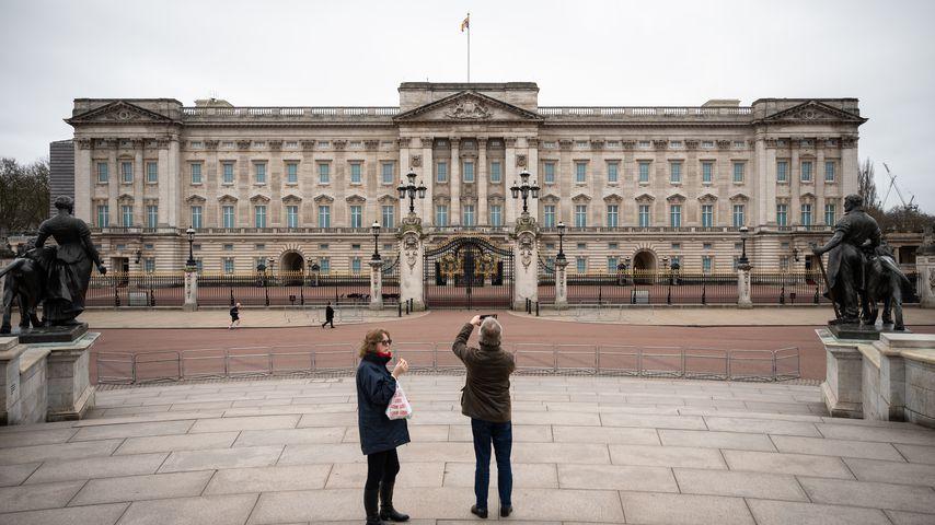 Der Buckingham Palast im März 2020