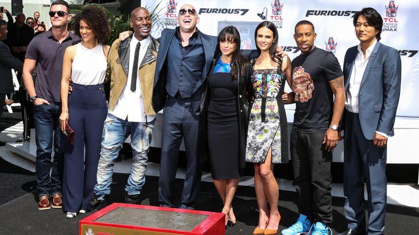 """""""Furious 7"""": Ausgelassene Stimmung bei der Premiere"""