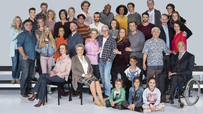 "Der Cast der ""Lindenstraße"" 2019"