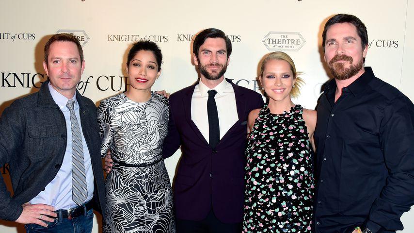 """Der Cast von """"Kight of Cups"""", März 2016"""