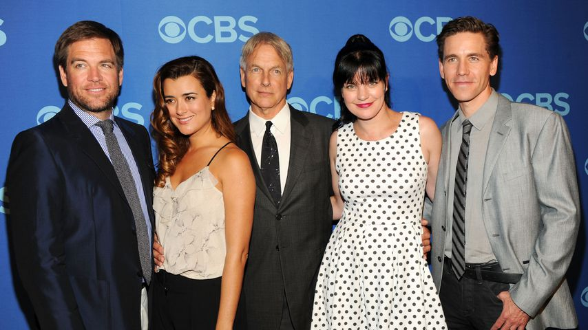 "Cast von ""Navy CIS"", Michael Weatherly, Coté de Pablo Mark Harmon, Pauley Perrette, Brian Dietzen"